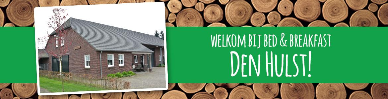 We heten u van harte welkom bij Bed & Breakfast Den Hulst. Onze B&B ligt in het buitengebied van Reusel, in de streek 'De Kempen' in Noord-Brabant.